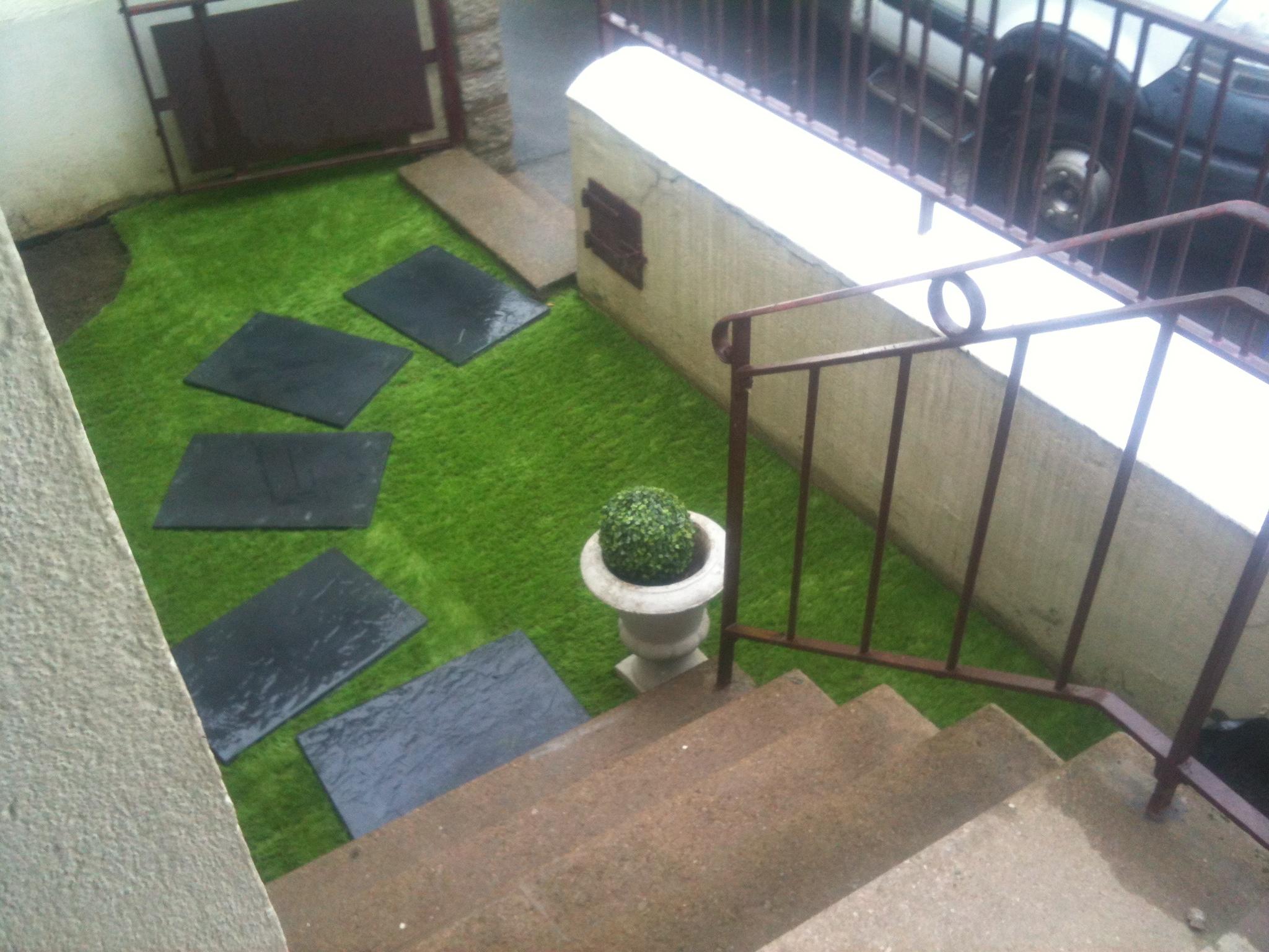 réaménagement d'un jardinet