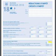 credit impot 2018